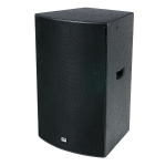 DAP-Audio DRX-15 400w 2-Way Vented Passive DJ Speaker cabinet